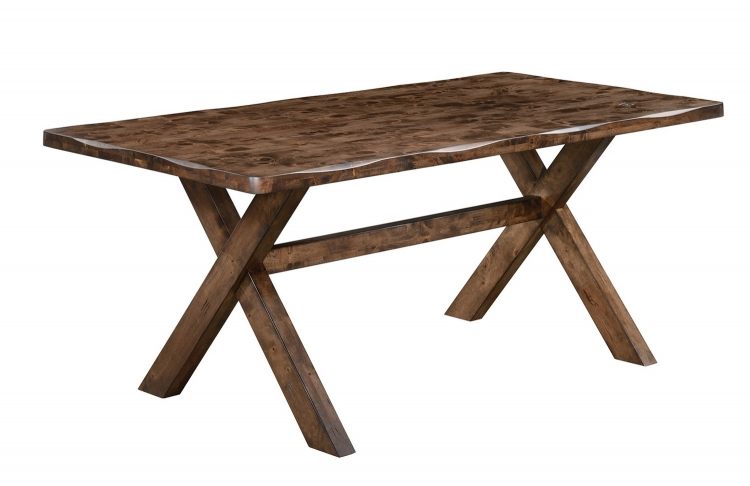 Alston Dining Table - Knotty Nutmeg
