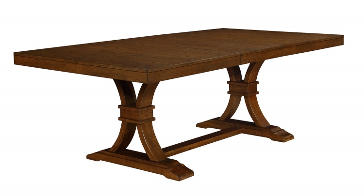 Abrams Dining Table - Truffle