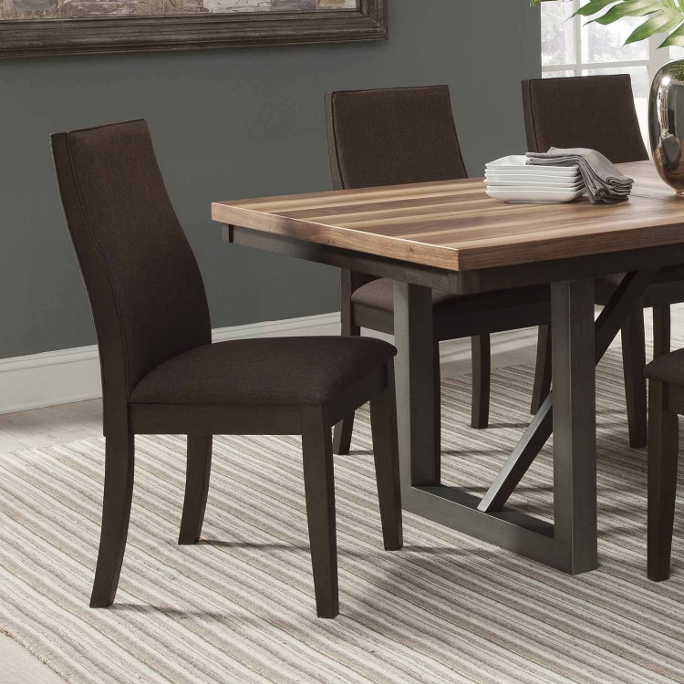 Spring Creek Dining Side Chair - Espresso Brown