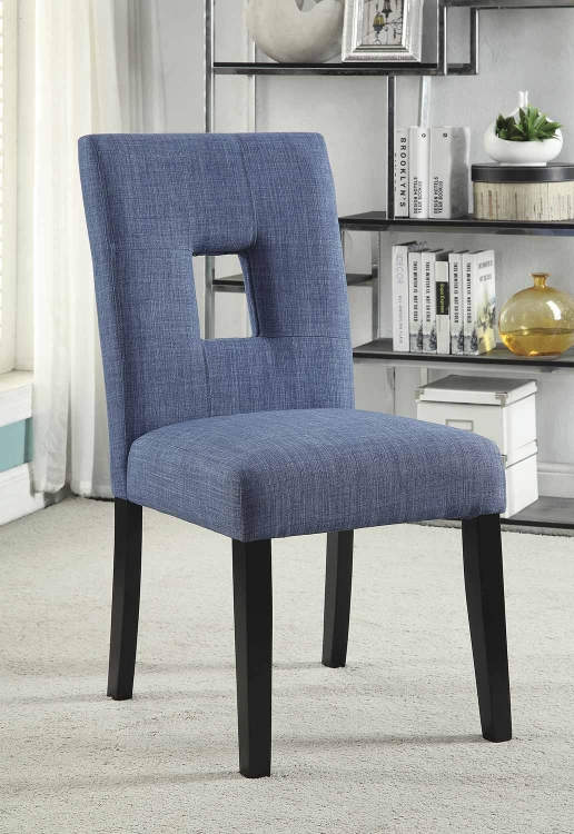 Andenne Dining Chair - Blue/Black