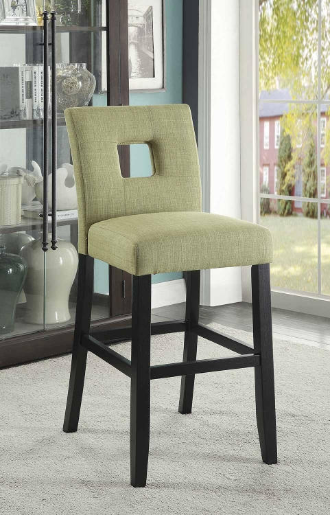 Andenne Counter Height Chair - Green/Black