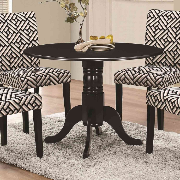 Dorsett Round Dining Table - Black