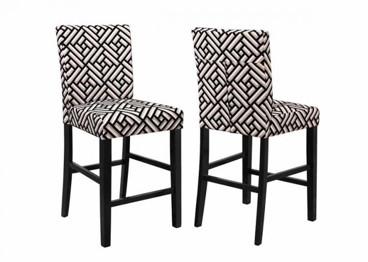 Dorsett Counter Height Chair - Black Multi