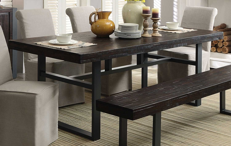 Keller Rectangular Dining Table - Reclaimed Wood