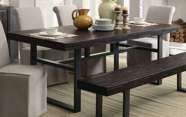 Keller Rectangular Dining Table - Reclaimed Wood