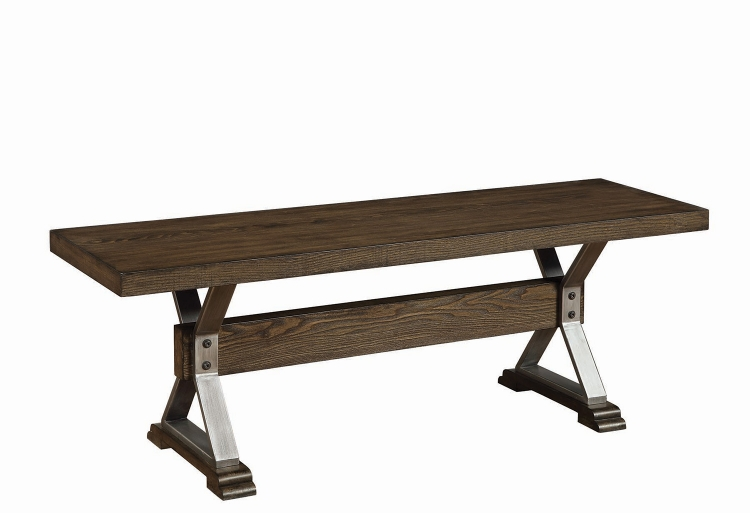 Beckett Bench - Dark Ash