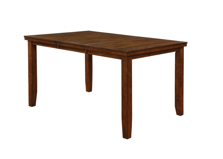 Maxwell Rectangular Counter Height DiningTable - Brown