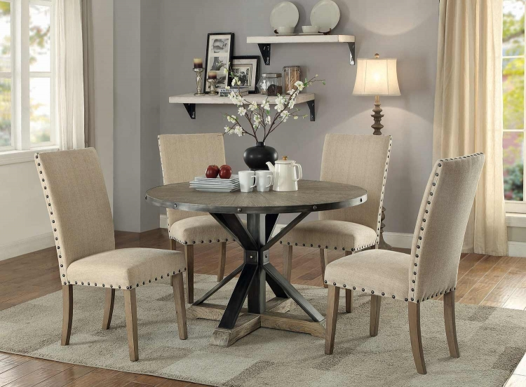 Tobin Round Dining Set