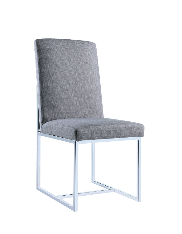 107143 Side Chair - Grey
