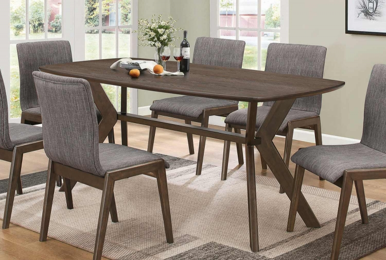 McBride Dining Table - Warm Brown