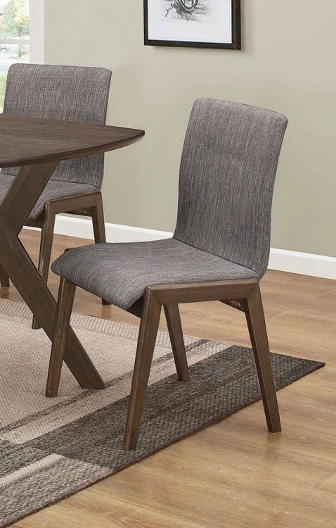McBride Dining Side Chair - Grey Fabric