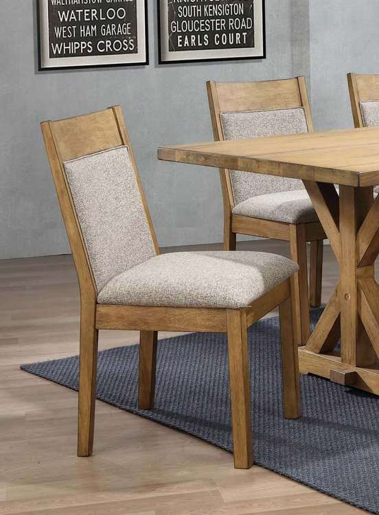 Douglas Dining Side Chair - Oatmeal