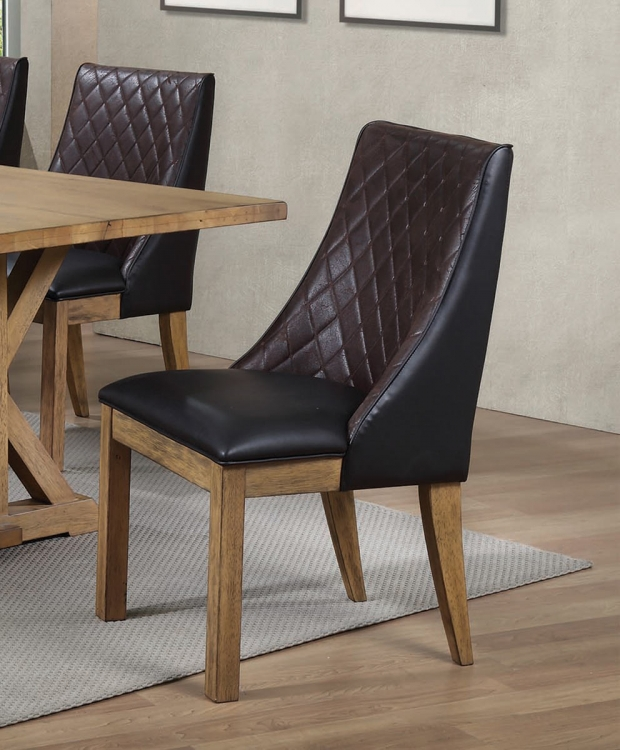 Douglas Dining Side Chair - Dark Brown