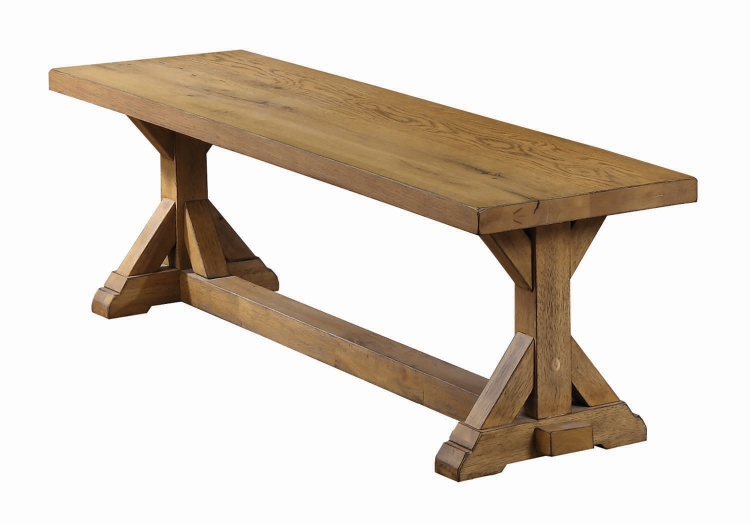 Douglas Bench - Vintage White Oak