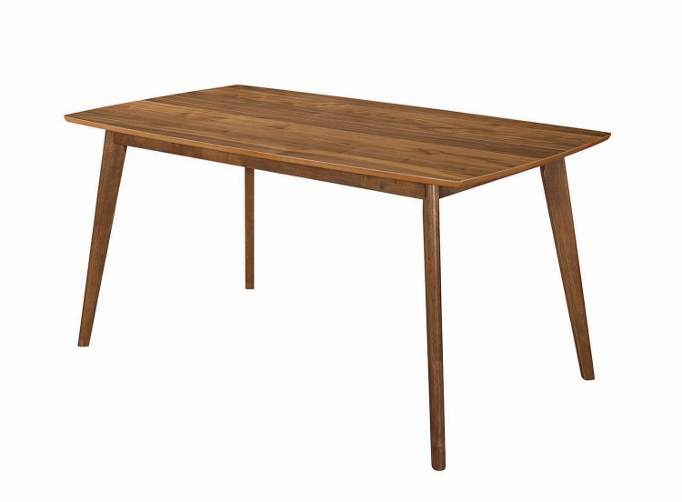 Sasha Rectangular Dining Table - Walnut