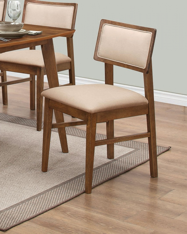 Sasha Dining Side Chair - Cream Fabric