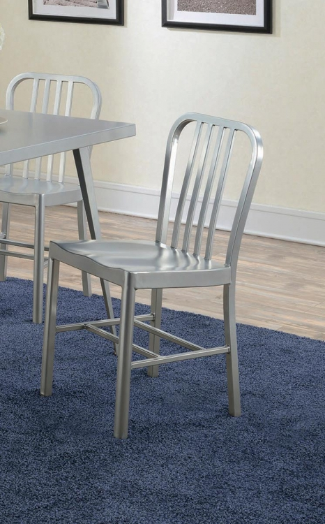 Lipscomb Dining Side Chair - Aluminum