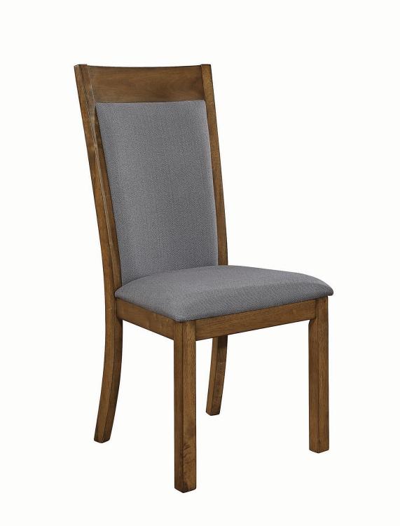 Octavia Side Chair - Grey Fabric