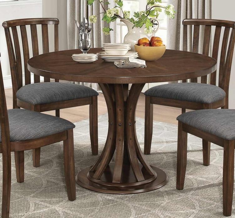 Prescott Round Dining Table - Vintage Cinnamon