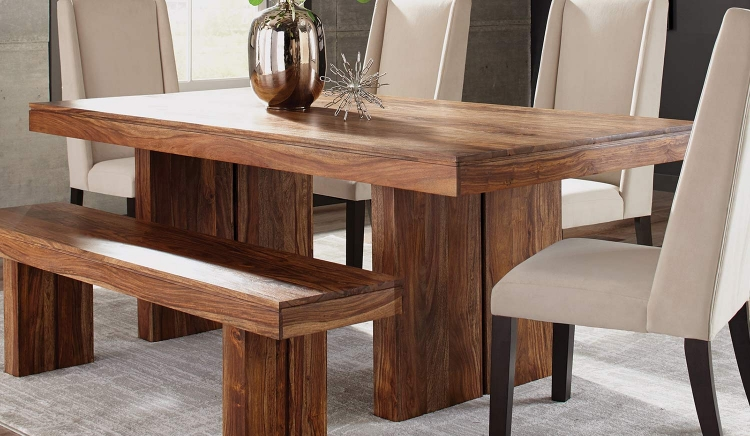 Hillsborough Dining Table - Honey Sheesham