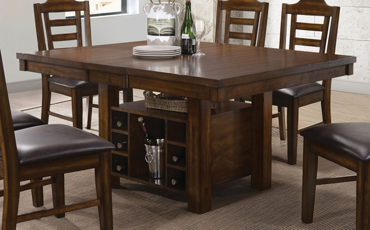 Bathurst Dining Table - Dark Ash Wood