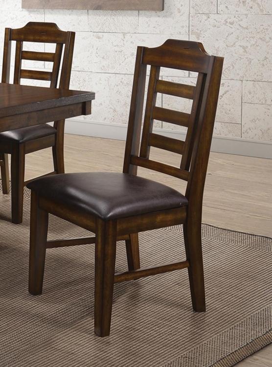 Bathurst Side Chair - Dark Ash Wood