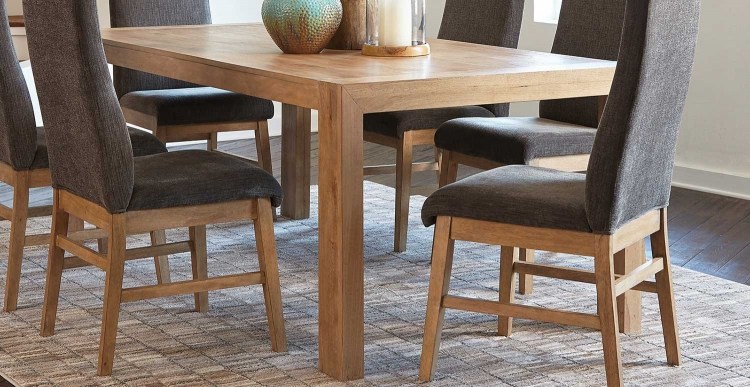 Kingston Dining Table - Drifted Acacia