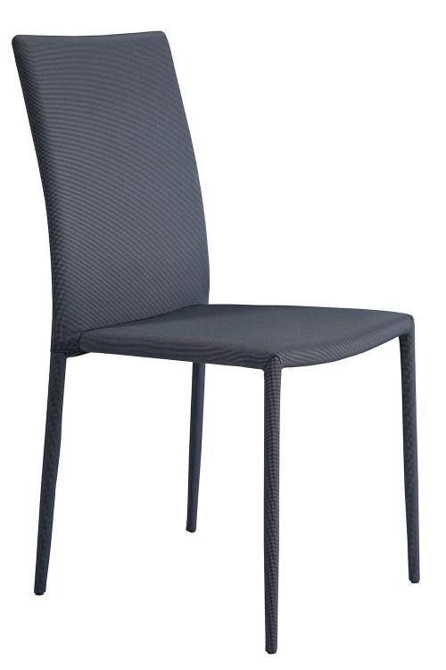 Adler Side Chair - Grey/Black