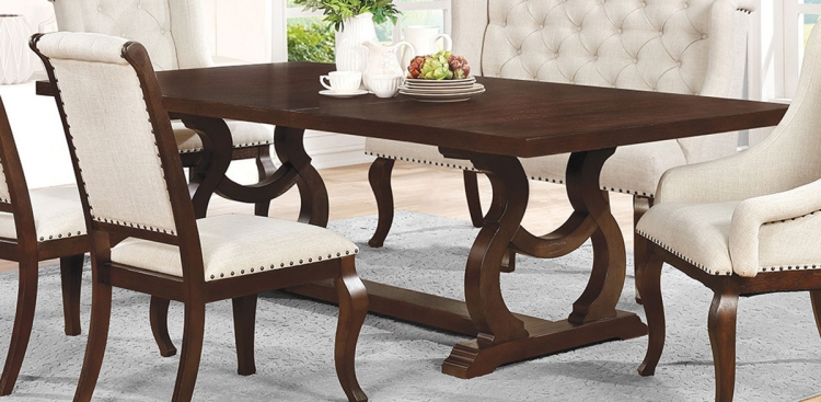 Glen Cove Dining Table - Antique Java