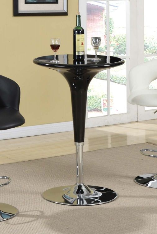 Mix & Match Adjustable Bar Table - Black