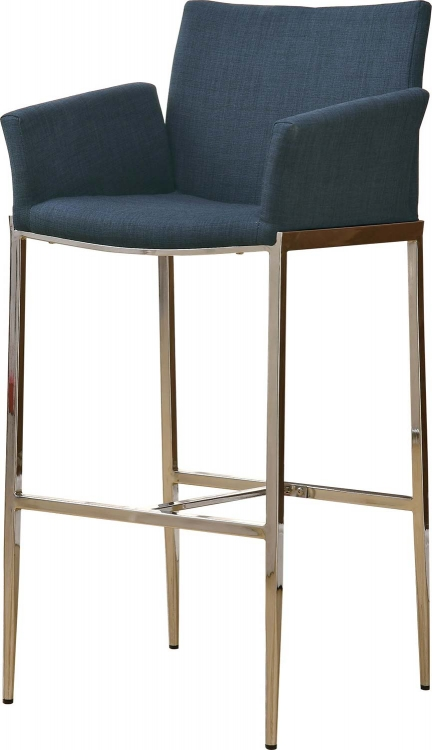 Mix & Match Bar Chair - Navy - Coaster