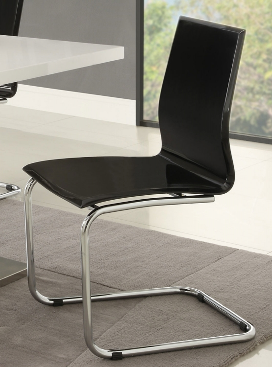 Mix & Match Side Chair - Black