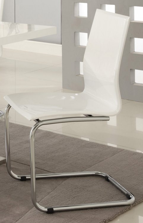 Mix & Match Side Chair - White