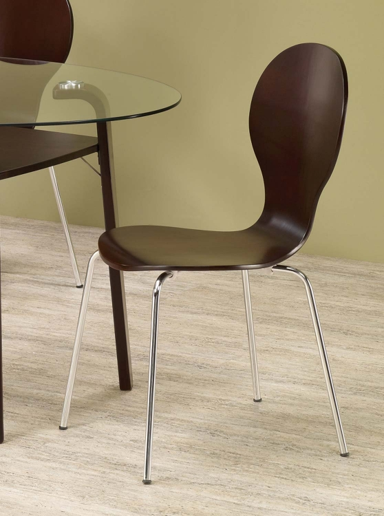 Orval Dining Chair - Cappuccino - Coaster