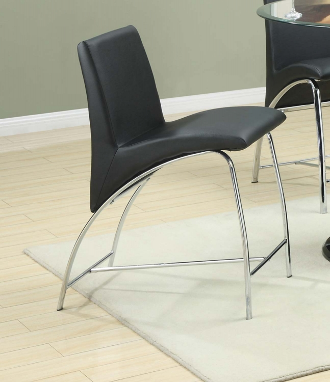 Ophelia Counter Height Chair - Black