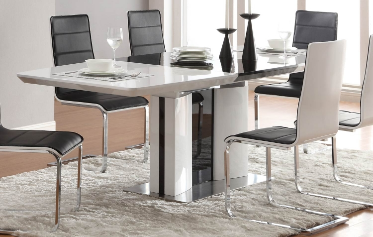 Broderick Modern Dining Table - White