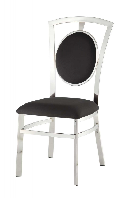 Auror Side Chair - Chrome