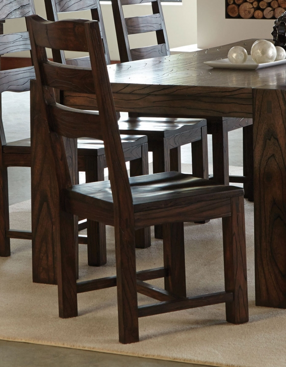 Calabasas Dining Chair - Dark Brown