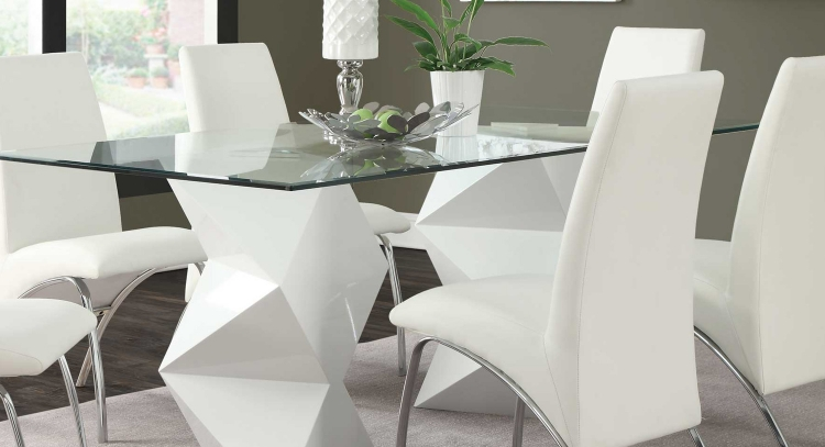 Ophelia Dining Table - White