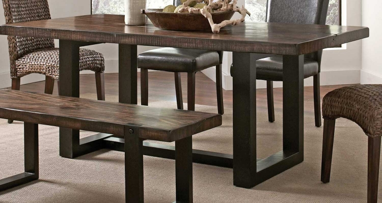 Westbrook Dining Table - Brown/ Black