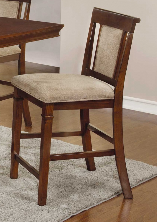 Pembrook Counter Height Stool - Walnut