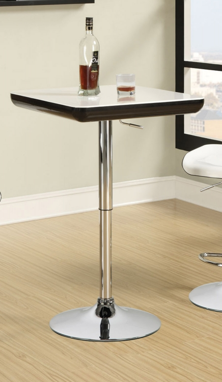 122100 Bar Table - Chrome
