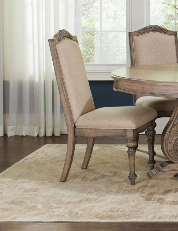 Iliana Side Chair - Antique Linen