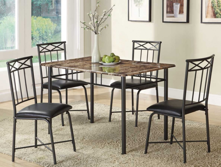 150115 5 Piece Dinette Set - Coaster
