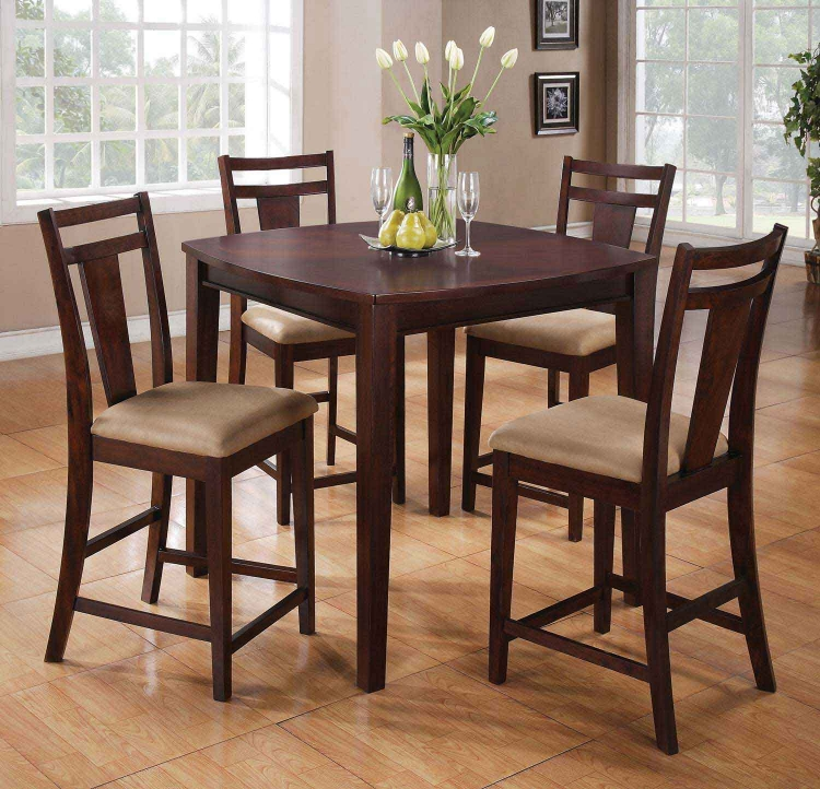 150159 5PC Counter Height Dining Set - Espresso