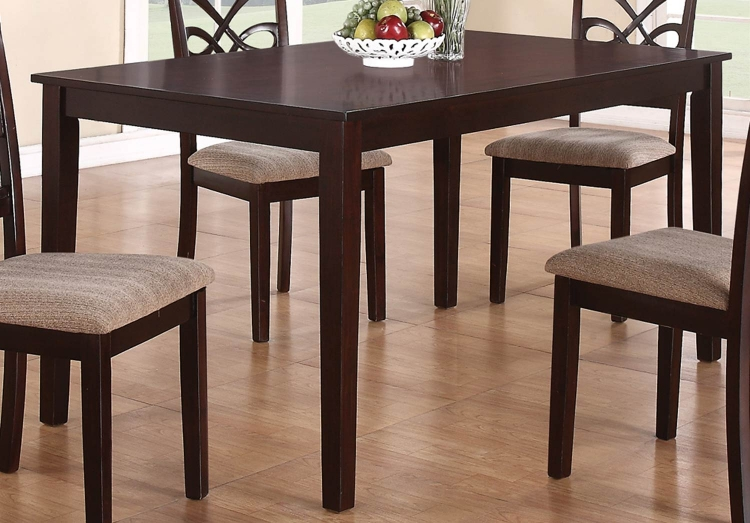 Cara Dining Table - Dark Cherry