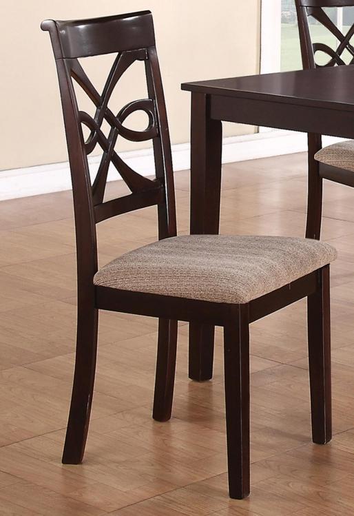 Cara Dining Chair - Dark Cherry