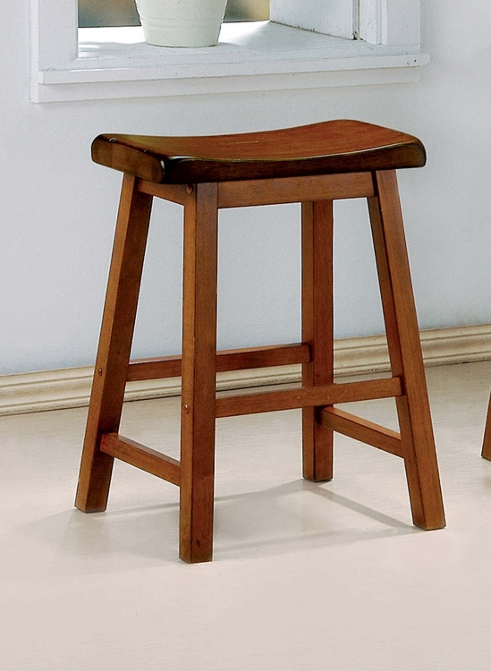 180049 Counter Stool - Honey Oak