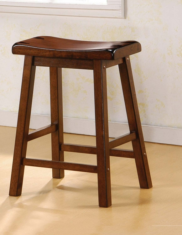 180069 Counter Stool - Dark Walnut - Coaster