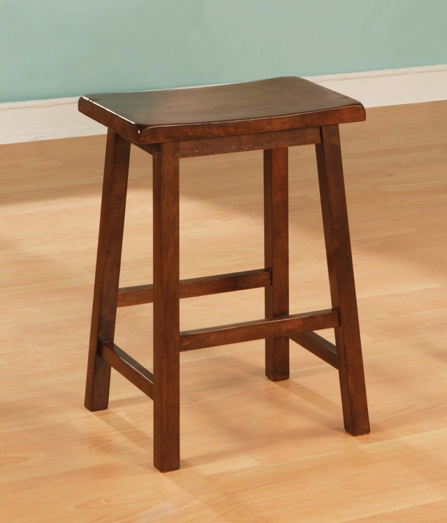 180109N Counter Stool - Dark Walnut